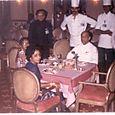 With the former President of Srilanka, Dr. Julius Jayawardane