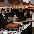 Surfy Rahman and Christophe Poteaux, chef owner Bastille