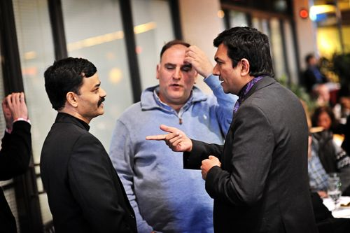 Chefs Sanjeev Kapoor, Chef Jose Andres and Chef K.N.Vinod