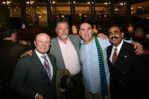 Franco Nuschese, silvesto, Jose Andres and Surfy Rahman