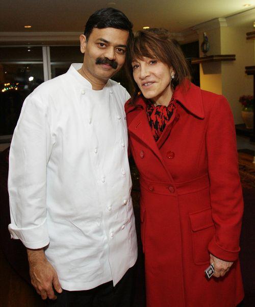 With Chef Nora Pouillon