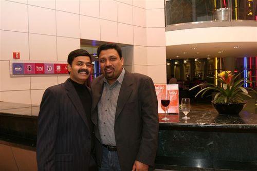 Chef Vikram Garg and K.N.Vinod