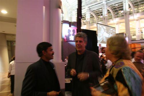 Chef K.N.Vinod with Anthony Bourdain