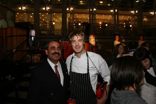 Surfy Rahman and chef Barton Seaver