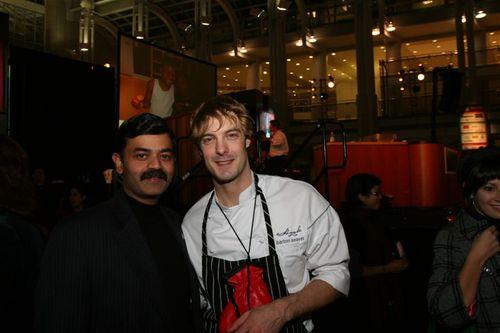 Chef K.N.Vinod and Chef Barton Seaver