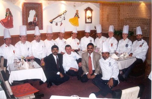 With the Club des Chefs Des Chefs