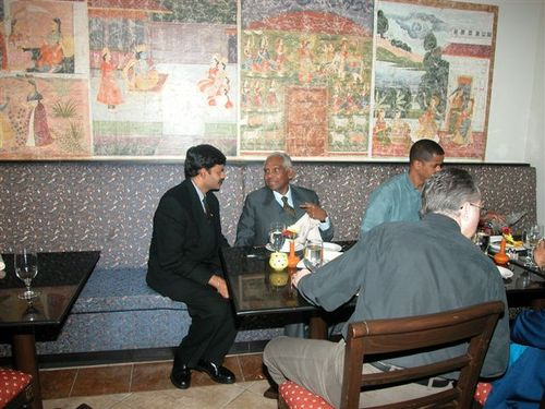 With the former President of India, Dr. K.R.Narayanan